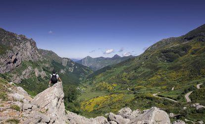 Somiedo natural park in Asturias.