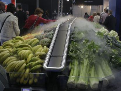 A system to keep fruit and vegetables fresh at Alimentaria.