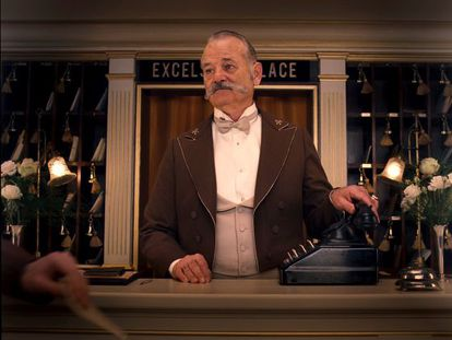 Bill Murray stars in Wes Anderson's 'The Grand Budapest Hotel.'