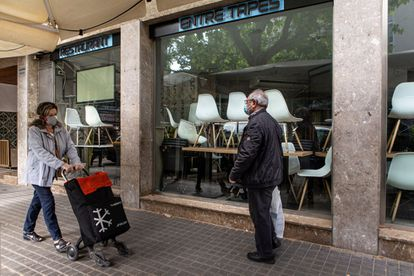 The food services sector suffered particularly from the strict confinement measures in Spain.