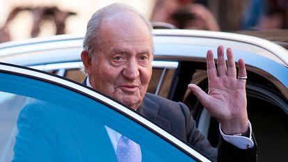 Former king Juan Carlos I in 2018.