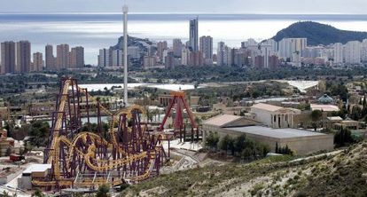 The Terra Mítica theme park in Benidorm (Alicante) in 2009.