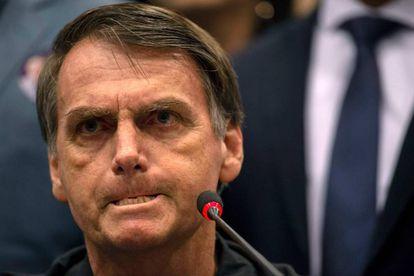 Brazil's right-wing presidential candidate Jair Bolsonaro.
