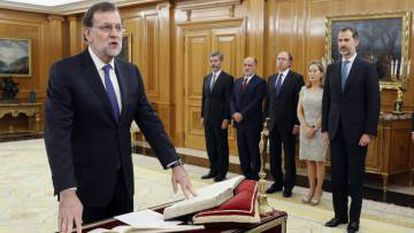 Mariano Rajoy of the PP was finally reinstated in office.