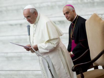 Pope Francis is reported to have personally telephoned the alleged victim.