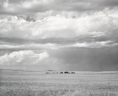 Robert Adam's photograph 'Ranch Northeast of Keota', Colarado, 1969.