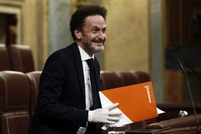 Ciudadanos lawmaker Edmundo Bal in Congress on Wednesday.