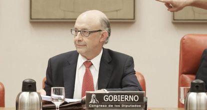 Spanish Finance Minister Cristóbal Montoro.