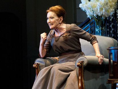 Nuria Espert Madrid at the María Guerrero Theater as Regina Giddens in Lillian Hellman's classic melodrama The Little Foxes.