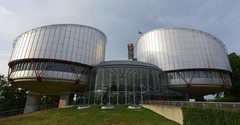 Headquarters of the European Court of Human Rights.