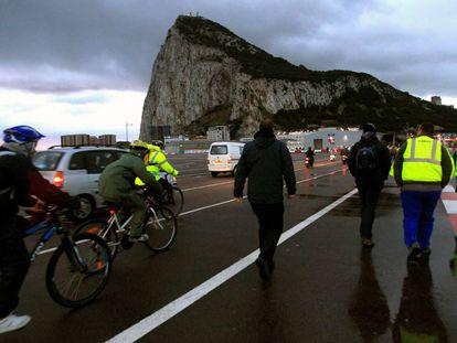 Gibraltar on Tuesday.