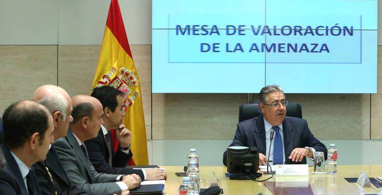 Interior Minister Juan Ignacio Zoido at Thursday's counter-terrorism meeting.