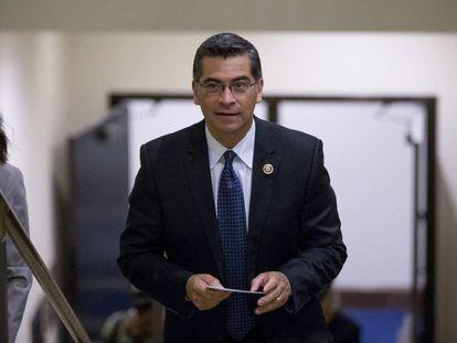 Xavier Becerra, the new attorney general of California.