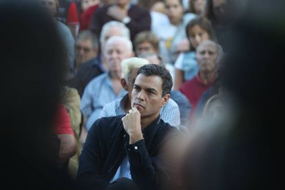 Socialist Party chief Pedro Sánchez.