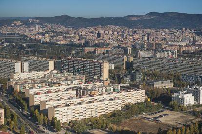 The neighborhood of La Mina, in Barcelona.