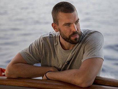 Marc Gasol on an expedition with the NGO 'Proactiva Open Arms.'