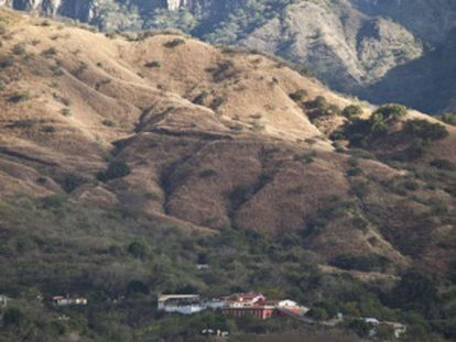 The Sinaloa mountain range, where the cartel was founded.