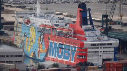 This ship that served as living quarters for Spanish police in Catalonia made world headlines because of its Looney Tunes characters.
