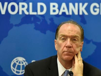World Bank President David Malpass in late October in New Delhi, India.