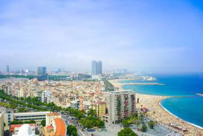 The city of Barcelona.