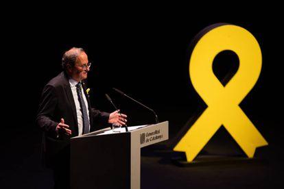 Catalan regional premier Quim Torra.