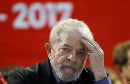 Former Brazilian president Luiz Inácio Lula da Silva is hoping to make a return to the top job despite being named as a suspect in five corruption cases.