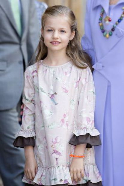 Leonor de Borbón will inherit the throne from her father.