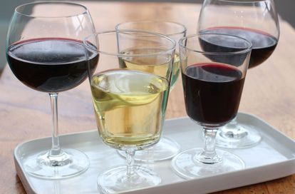 A glass of wine represents one unit of alcohol.