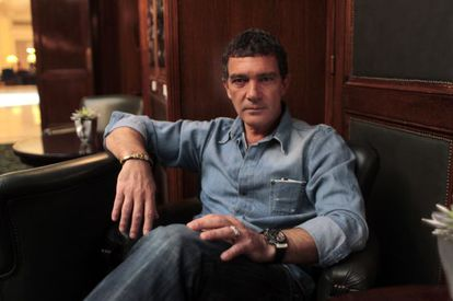 Actor Antonio Banderas, who is giving back to the town part of the garden of his Marbella property.