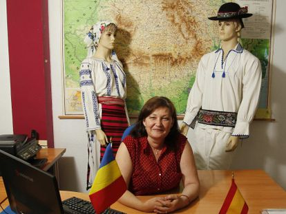 Ica Tomi, of the Federation of Romanian Associations of Spain, has been in the country for 10 years.