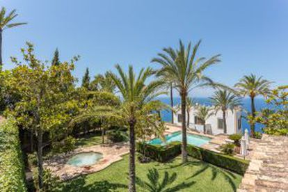 A photo of the Mallorca property.
