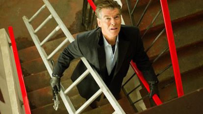 In need of a lift: Pierce Brosnan in Nick Hornby adaptation 'A Long Way Down.'