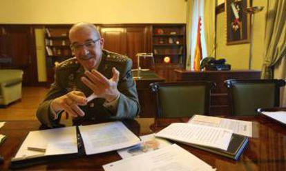 General Fernando Alejandre, the new Defense Chief of Staff.