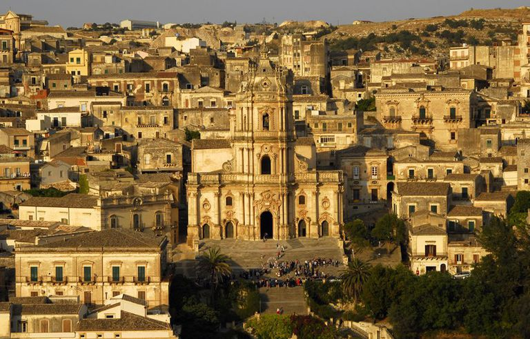 Modica, on the island of Sicily.