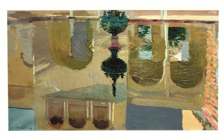 Joaquín Sorolla's 'Reflections in a Fountain,' which forms part of the 'Gardens of Light' exhibition.