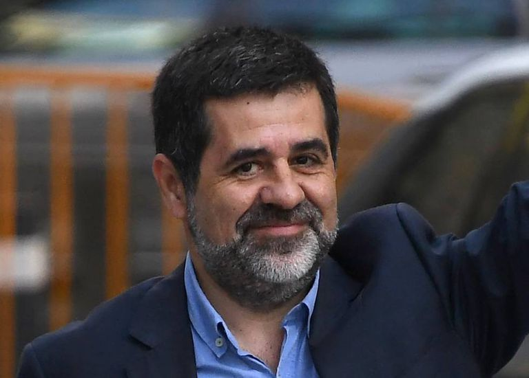 Jordi Sànchez, who is currently in pre-trial detention for sedition.