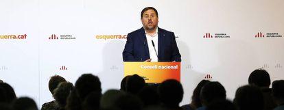 Catalan Deputy Premier Oriol Junqueras.