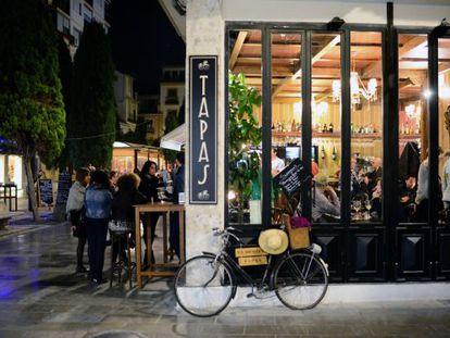 A tapas bar in Granada.