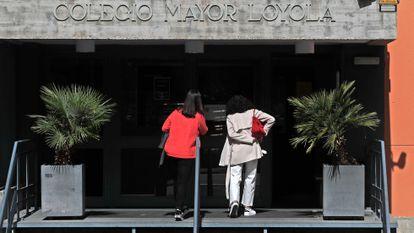The Loyola university residence in Madrid.