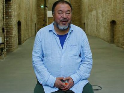 The Chinese artist and activist explains his worldview during a conversation with EL PAÍS in Buenos Aires