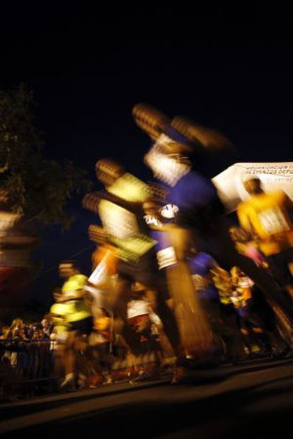 The latest running of the Canillejas night race.