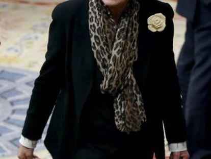 Mercè Pigem in 2013 when she was a deputy for CiU.