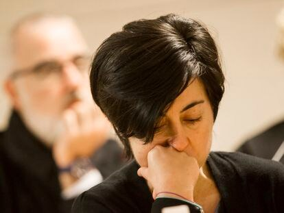Rosario Porto at the 2015 trial that found her and her husband guilty of killing their daughter.
