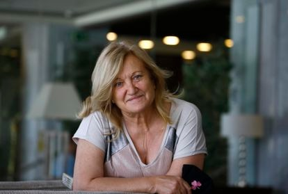 Joaquina García del Moral, a retired teacher with Alzheimer's, has been treated with the experimental drug aducanumab.