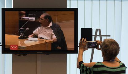 Doctor Eduardo Vela on trial.
