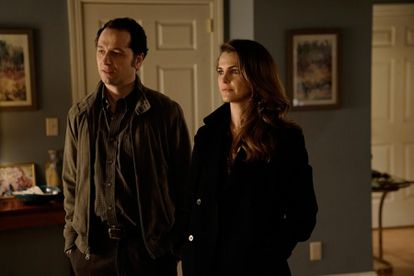Matthew Rhys and Keri Russell in the series 'The Americans.'