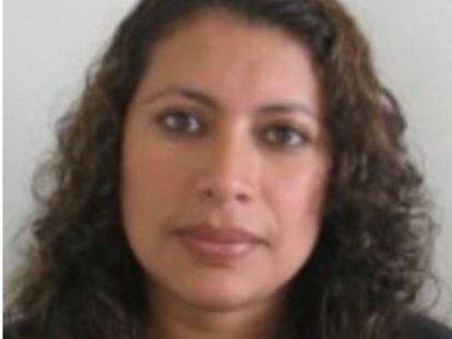 Carmen Mireya Alarcón Rivera, the fugitive arrested by police in Barcelona.