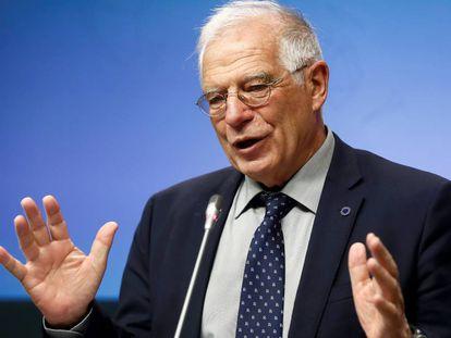 Spanish Foreign Affairs Minister Josep Borrell.