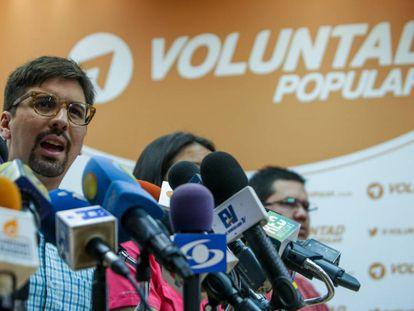 Popular Will deputy Freddy Guevara.