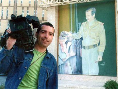 The Telecinco cameraman José Couso in 2003.